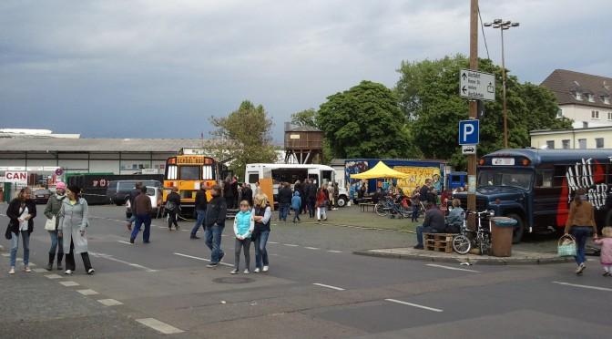 Pilotprojekt: Wochenmarkt & Street Food auf dem Kölner Großmarkt